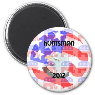 Huntsman 2012 2 inch round magnet