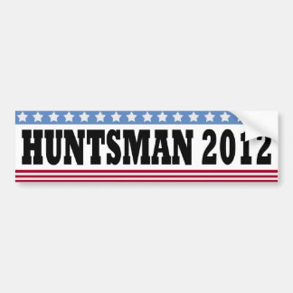 Huntsman 2012 Bumper Sticker