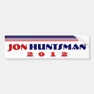 Huntsman 2012 de Jon Pegatina Para Auto