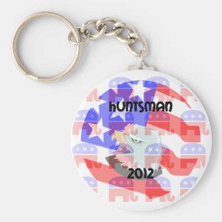 Huntsman 2012 llavero redondo tipo pin