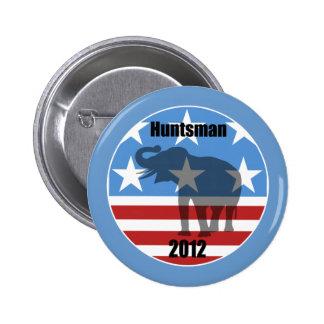 Huntsman 2012 pin redondo de 2 pulgadas