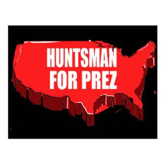 HUNTSMAN 2012 POSTCARD