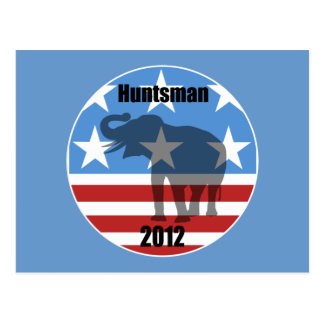 Huntsman 2012 postcard