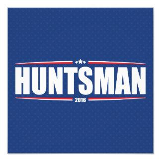 Huntsman 2016 de Jon (estrellas y rayas - azul) Arte Fotografico