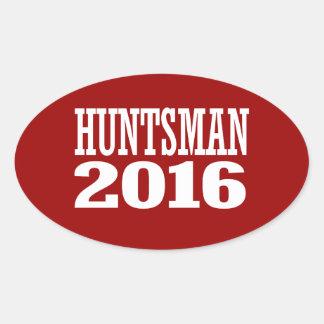 HUNTSMAN 2016 CALCOMANÍA OVAL