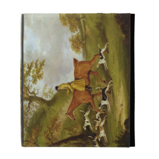 Huntsman and Hounds, 1809 (oil on canvas) iPad Folio Covers