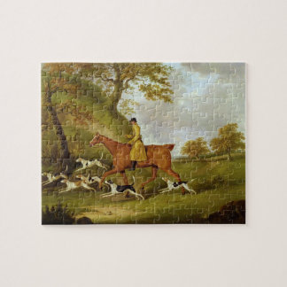 Huntsman and Hounds, 1809 (oil on canvas) Puzzles