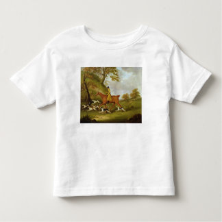 Huntsman and Hounds, 1809 (oil on canvas) Toddler T-shirt