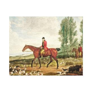 Huntsman Canvas Print