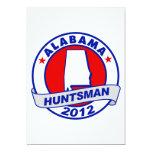 Huntsman de Alabama Jon Invitación 12,7 X 17,8 Cm
