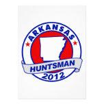 Huntsman de Arkansas Jon Anuncio Personalizado