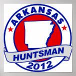Huntsman de Arkansas Jon Impresiones