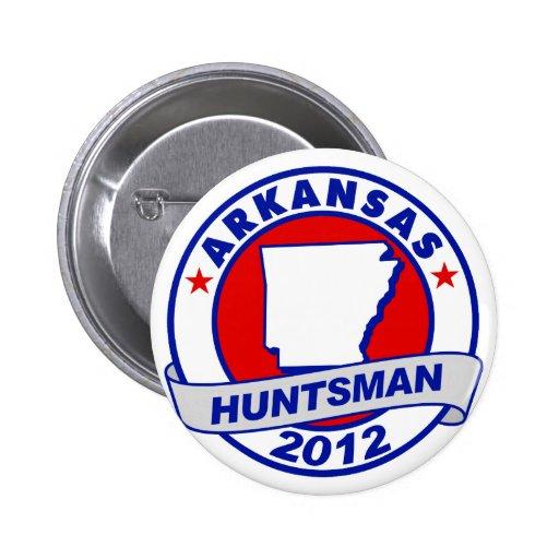 Huntsman de Arkansas Jon Pin Redondo 5 Cm