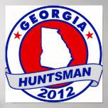 Huntsman de Georgia Jon Posters