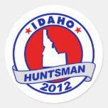 Huntsman de Idaho Jon Etiqueta Redonda