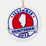Huntsman de Illinois Jon Ornamento Para Arbol De Navidad