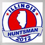 Huntsman de Illinois Jon Impresiones