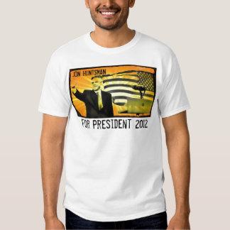 Huntsman de Jon para el presidente camiseta 2012 Polera