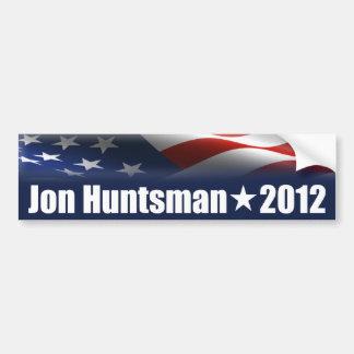 Huntsman de Jon para el presidente Pegatina Para Auto