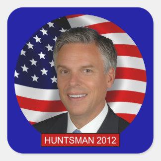 Huntsman de Jon Pegatina Cuadrada