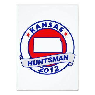 Huntsman de Kansas Jon Invitaciones Personales