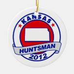 Huntsman de Kansas Jon Ornamento Para Reyes Magos