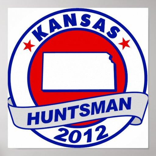 Huntsman de Kansas Jon Poster