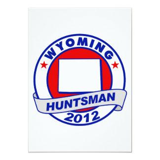Huntsman de Wyoming Jon Comunicado Personal