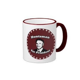 HUNTSMAN FOR PRESIDENT 2012 RINGER COFFEE MUG