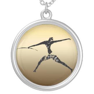 Huntsman of Lascaux Round Pendant Necklace