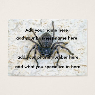 Huntsman_Spider,_(100)_Pack_Chubby_Buisness_Cards Business Card