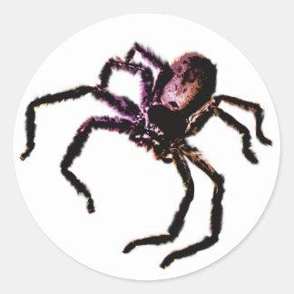 Huntsman Spider Classic Round Sticker