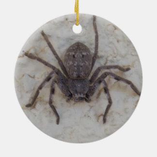 Huntsman_Spider, Round Ceramic Decoration