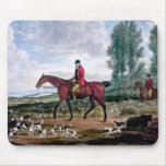 Huntsman to his majestys harriers mouse pads