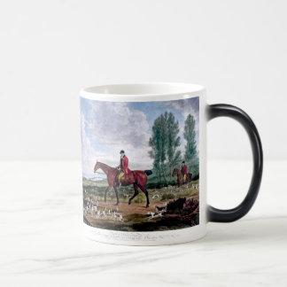 Huntsman to his majestys harriers coffee mugs