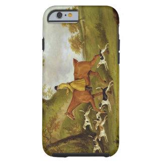 Huntsman y perros, 1809 (aceite en lona) funda de iPhone 6 tough