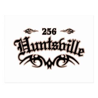 Huntsville 256 postcard