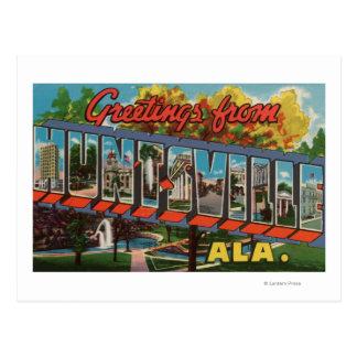 Huntsville, Alabama - escenas grandes de la letra Postal