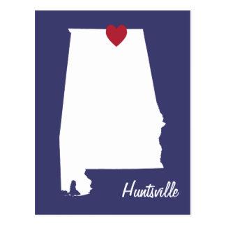 Huntsville Alabama Postcard