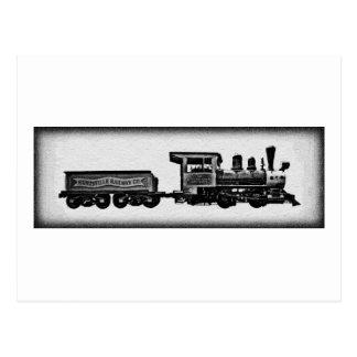 Huntsville Depot Train Postcard