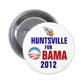 Huntsville for Obama Button