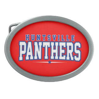 Huntsville High School; Panthers Oval Belt Buckle