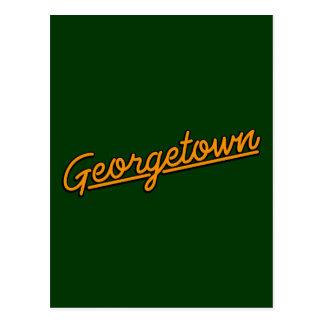 Huntsville in orange postcard