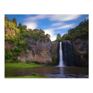 Hunua Falls in the Auckland Region of New Zealand Postcard