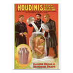 Huodini's Death Defying Mystery, 1908 Poster 5x7 Paper Invitation Card