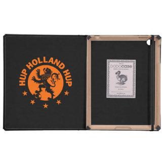 Hup Holanda - color de fondo Editable iPad Coberturas