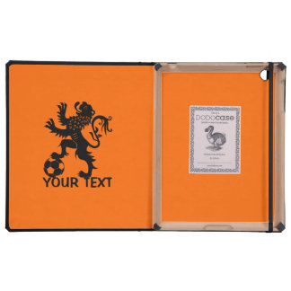 Hup Holanda - león holandés negro del fútbol iPad Coberturas