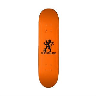 Hup Holland - Black Dutch Soccer Lion Skateboard