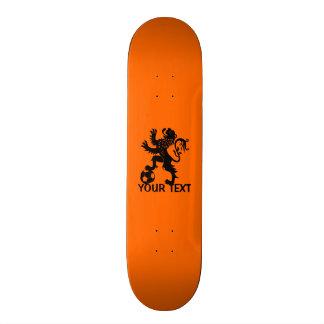 Hup Holland - Black Dutch Soccer Lion Skate Boards