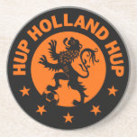 Hup Holland - Editable Background color Drink Coaster